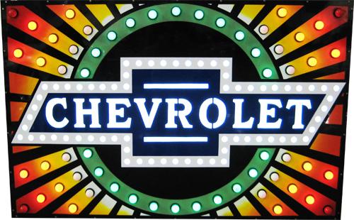Chevrolet Dealer Neon Sign-ChevyMall