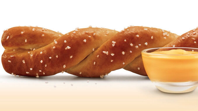 Sonic Unveils New Soft Pretzel Twist With Cheese Sauce - Chew Boom