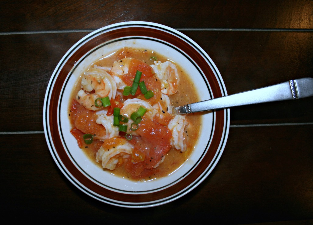 Shrimp and Tomatoes ~ Take-Out Made Simple at Home! ~ Chews and Brews