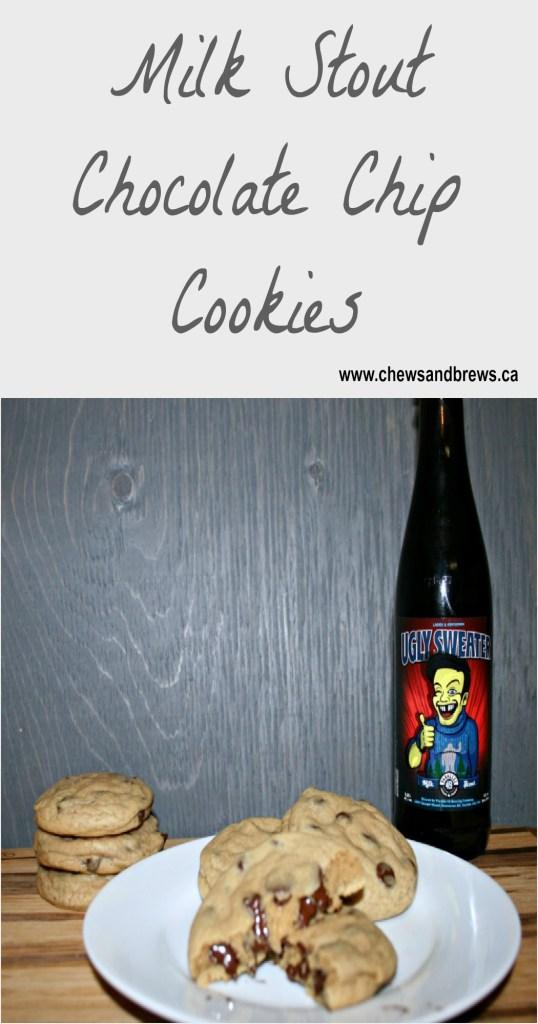 milk stout chocolate chip cookies