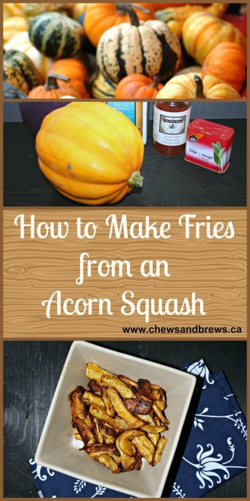 Acorn Squash Fries