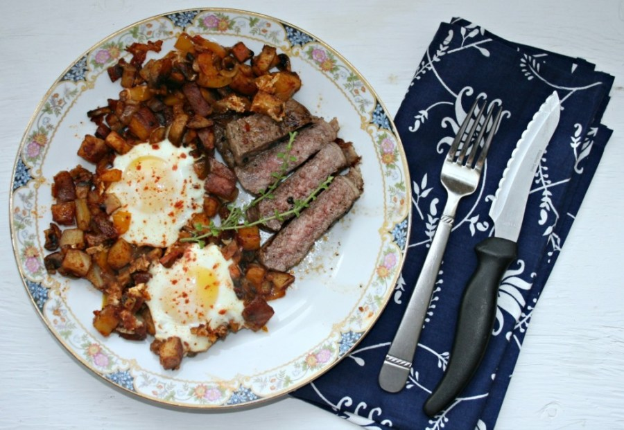 How to Make Your Steak and Eggs Breakfast Amazing ~ Chews ...