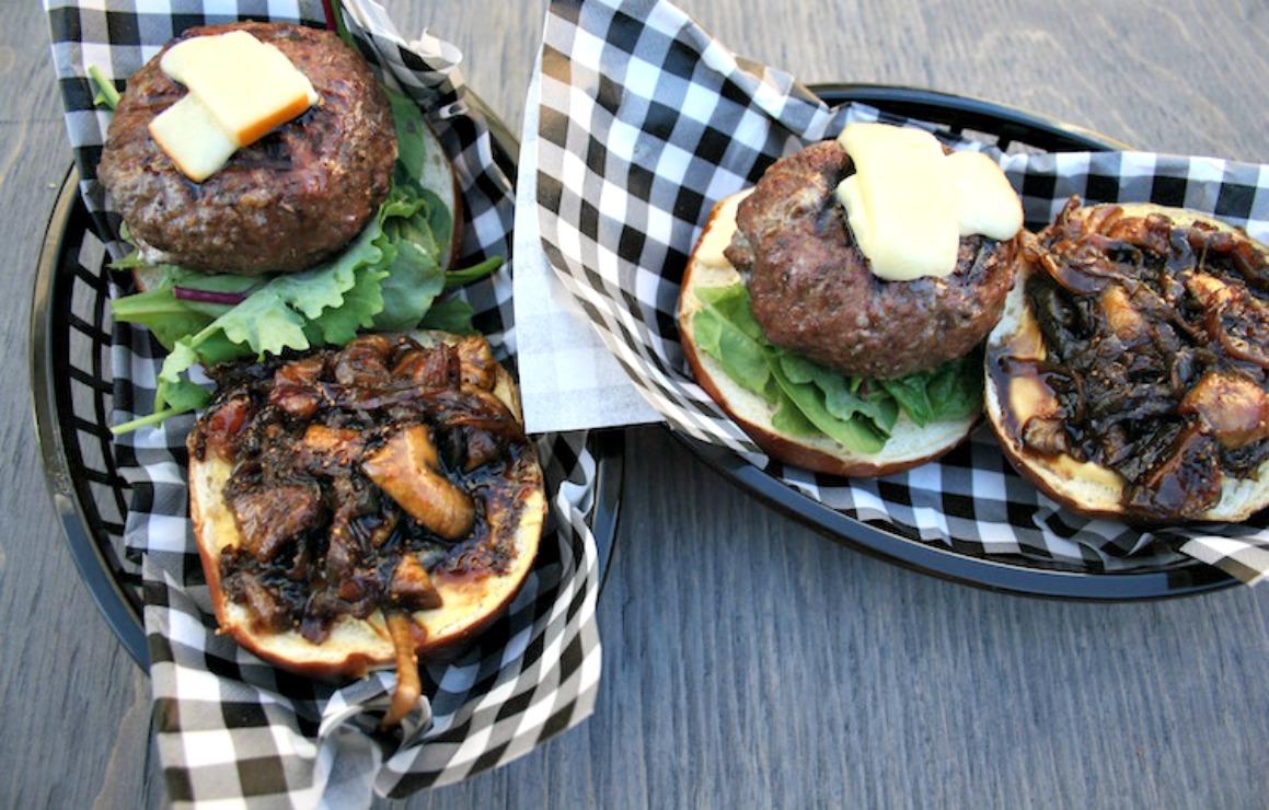 Gorgonzola Stuffed Burger