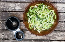 spaghetti di verdure, l'alternativa light che va tanto di moda