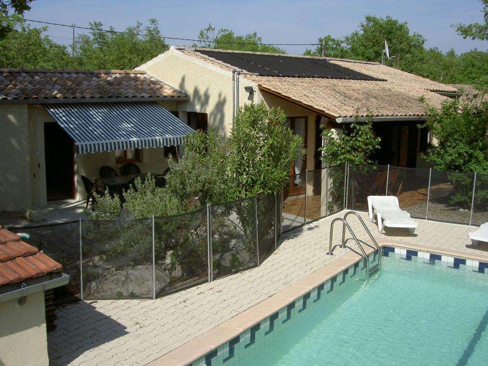 Ardèche méridionale mas avec piscine privée, à Saint Alban Auriolles
