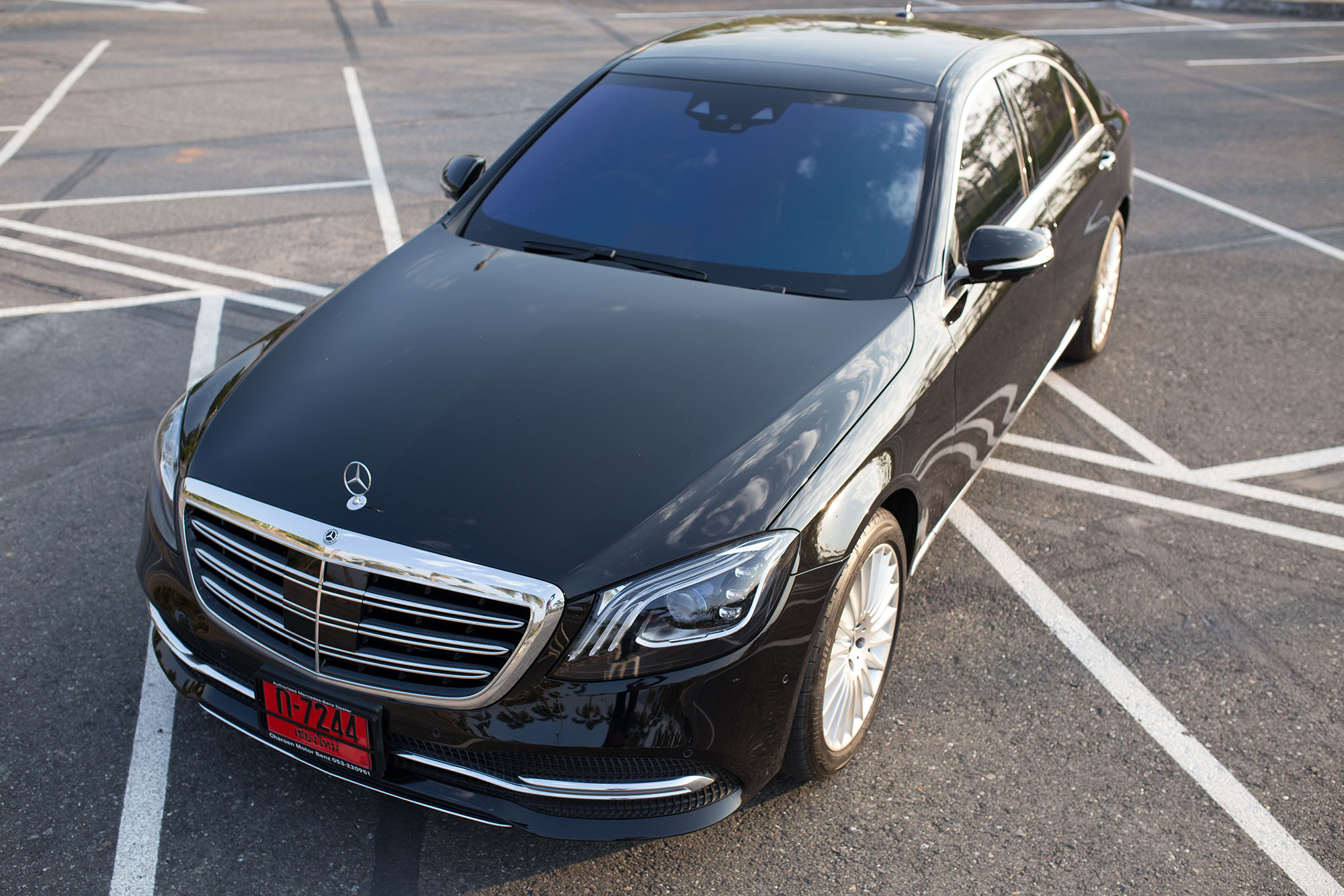 benz s class newest model for rent in chiangmai chiang rai