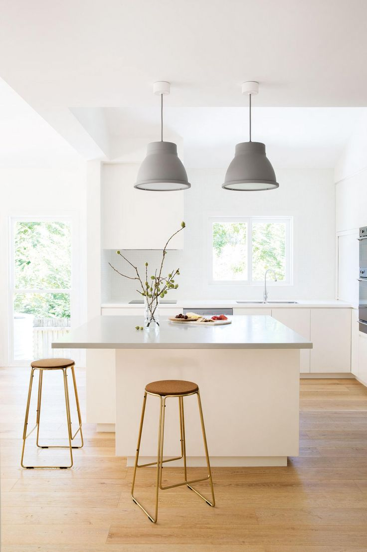 lighting your kitchen with pendant lights kitchen hanging lights Concrete kitchen pendant lights