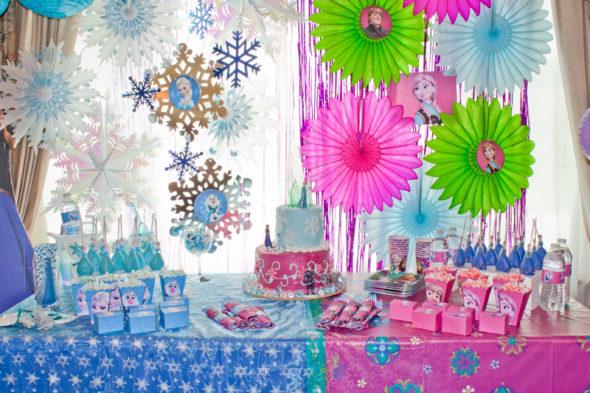 Disney\u0027s Frozen birthday party ideas Chica and Jo