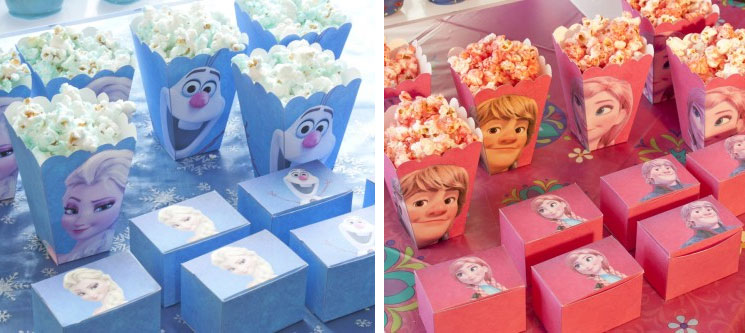 Disney\u0027s Frozen birthday party ideas Chica and Jo