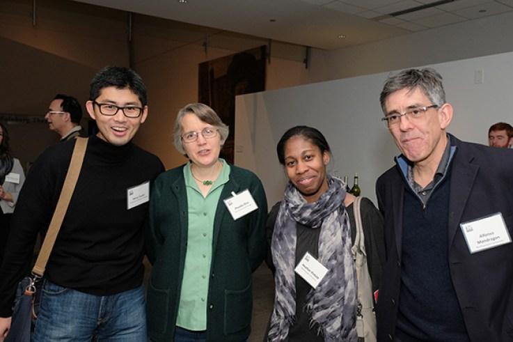 CBC researchers (from the left): Akira Yoshii (UIC), Phoebe Rice (UChicago), Heather Pinkett and Alfonso Mondragon (NU)