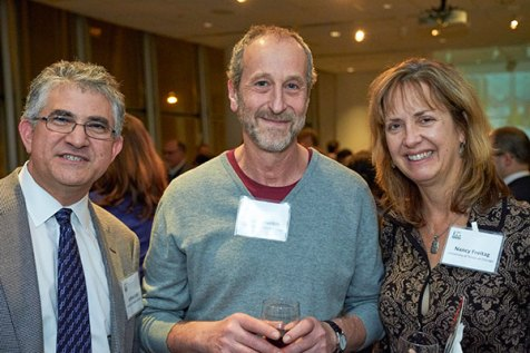 CBC researchers (from left): Jeffrey Loeb, Shura Mankin and Nancy Freitag (UIC)