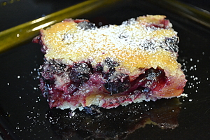 Graham Elliot's Lemon Blueberry Bars: A GE recipe adapted to be GF