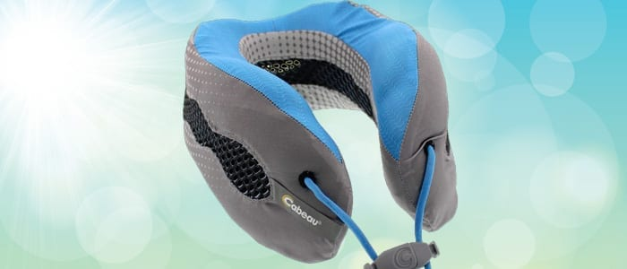 The Cabeau Evolution Cool Travel Pillow