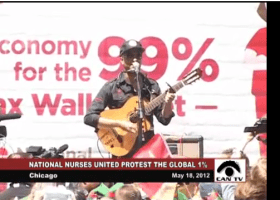 "NATO Summit: ""Protest the Global 1%"" (VIDEO)"