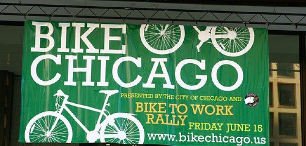 Filmmakers, Bicyclists Shoot a PSA for Bike Chicago
