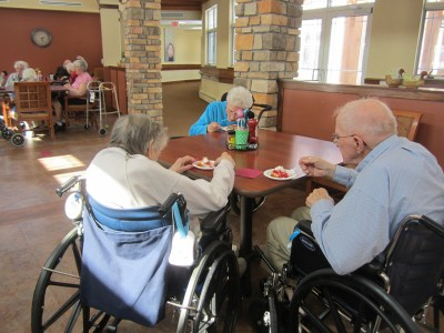 Senior citizens at a nursing home in Wisconsin. Photo credit: Ann, via Flickr