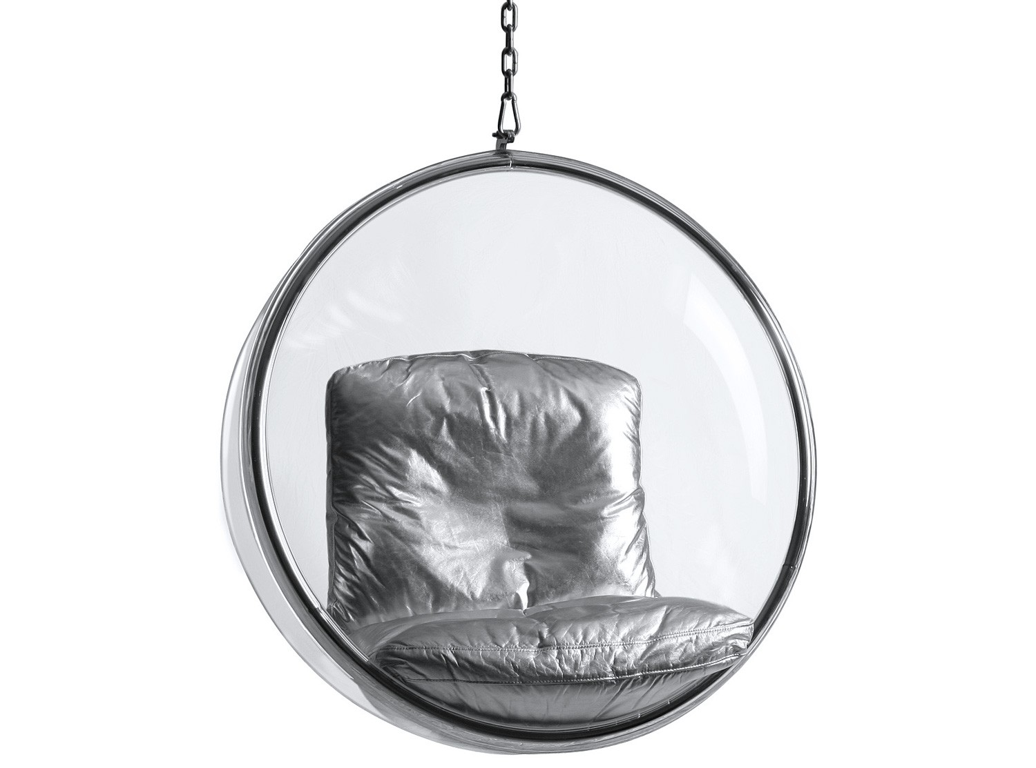 Bubble chair by eero aarnio platinum replica