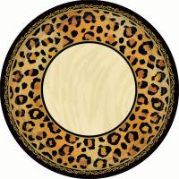 Pin Leopard Print Dinner Plates Safari Chic Party Supplies ...