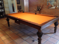 Convertible Pool Tables - Dining Room Pool Tables Conversions