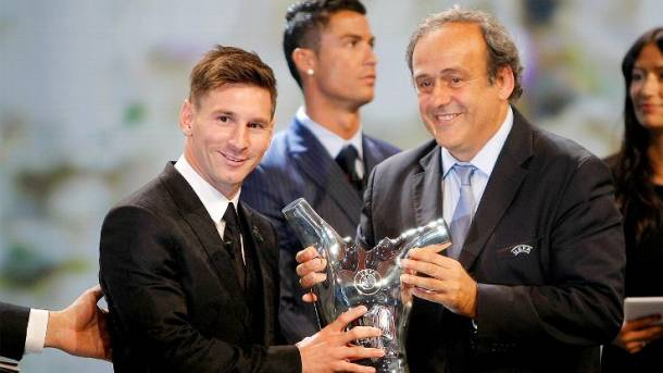 Lionel Messi named UEFA Best Player in Europe over Cristiano Ronaldo