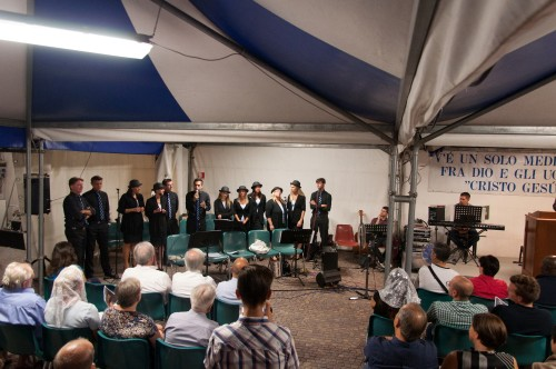 Tenda evangelistica a Vimercate