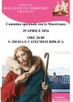 locandina catechesi biblica e santa messa chiesa purgatorio (2)