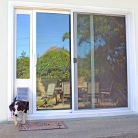 Patio Pacific Quick Panel 3e for sliding glass doors with ...