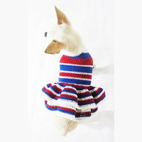 USA Patriotic Day Dog Costume 4th of July Chihuahua ...