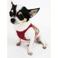 Casual Dog Clothes Cotton Crochet Pet Clothing Handmade ...
