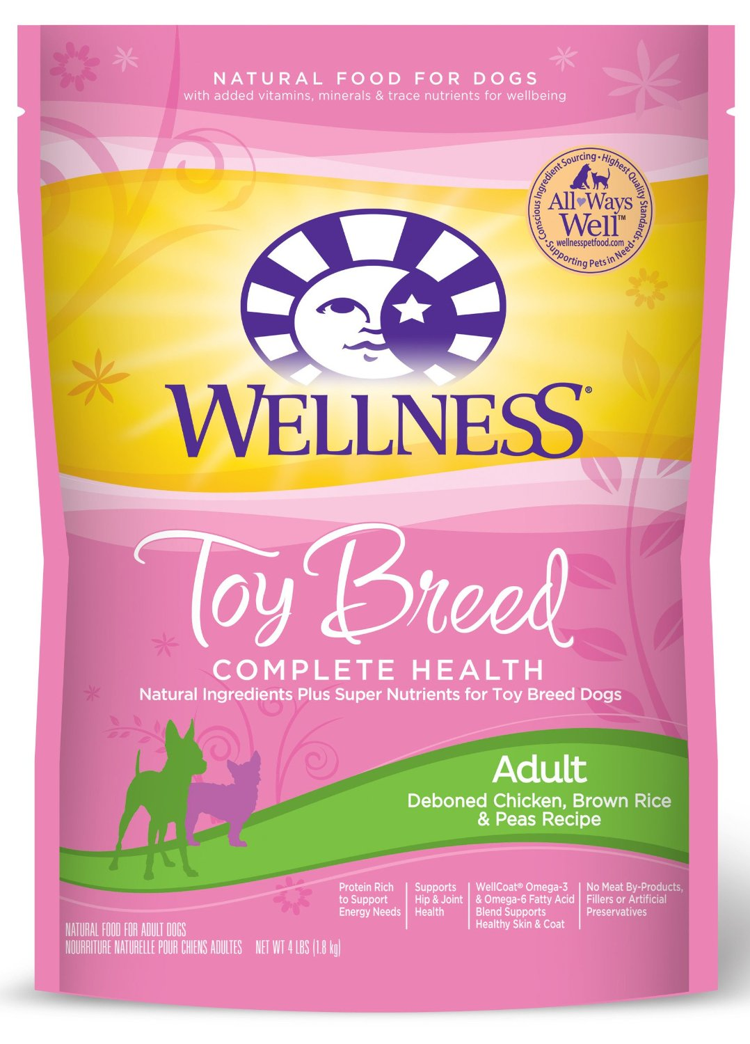 Charming Stomach Issues Small Dogs Small Dogs Canada Dog Food Wellness Complete Health Dry Dog Food Small Toy Breed Ken Brown Rice Peas Recipe 4 Pound Bag Dog Food bark post Best Dog Food For Small Dogs