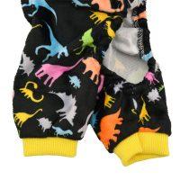 CuteBone Dog Pajamas Dinosaur Dog Apparel Dog Jumpsuit Pet ...