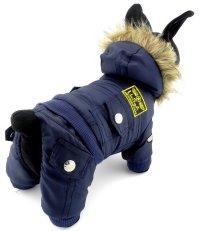 SELMAI Small Dog Apparel for Girls Boys Airman Fleece ...