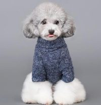 BWSC Pet Coat Fleece Dog Sweater Winter Clothes Cat Knitwear
