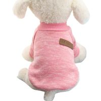 Pet Dog Puppy Classic Sweater Coat Tops Fleece Warm Winter