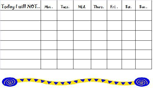 free printable behavior reward charts - Onwebioinnovate - blank reward chart template
