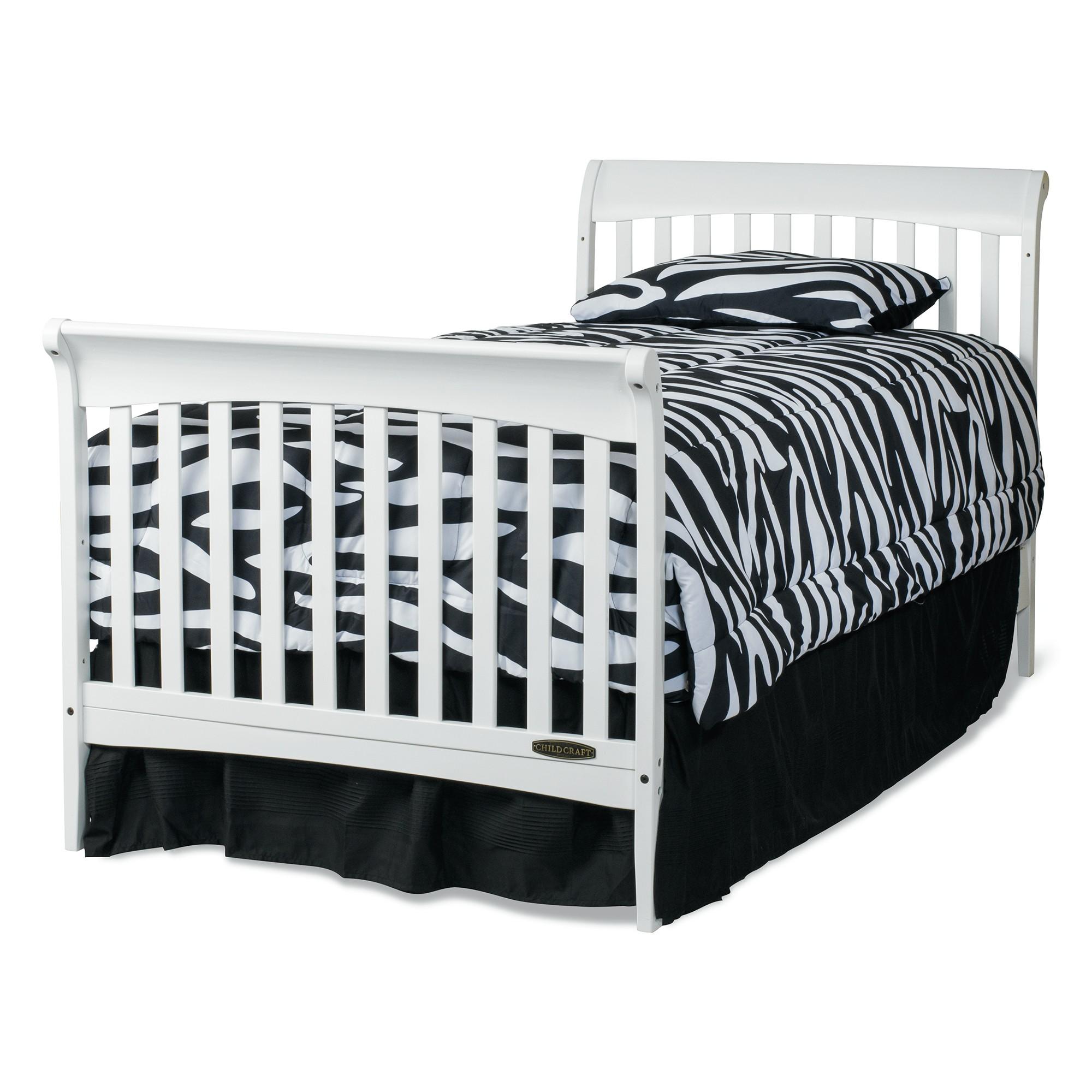 Child craft coventry crib -  Coventry Mini Convertible Child Craft Crib Full Bed Matte White Download