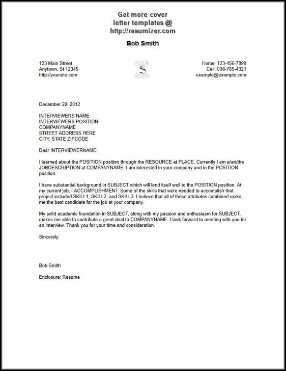 Free Cover Letter Sample - Cover Letter  Resume Examples #6ko8LrRK9J