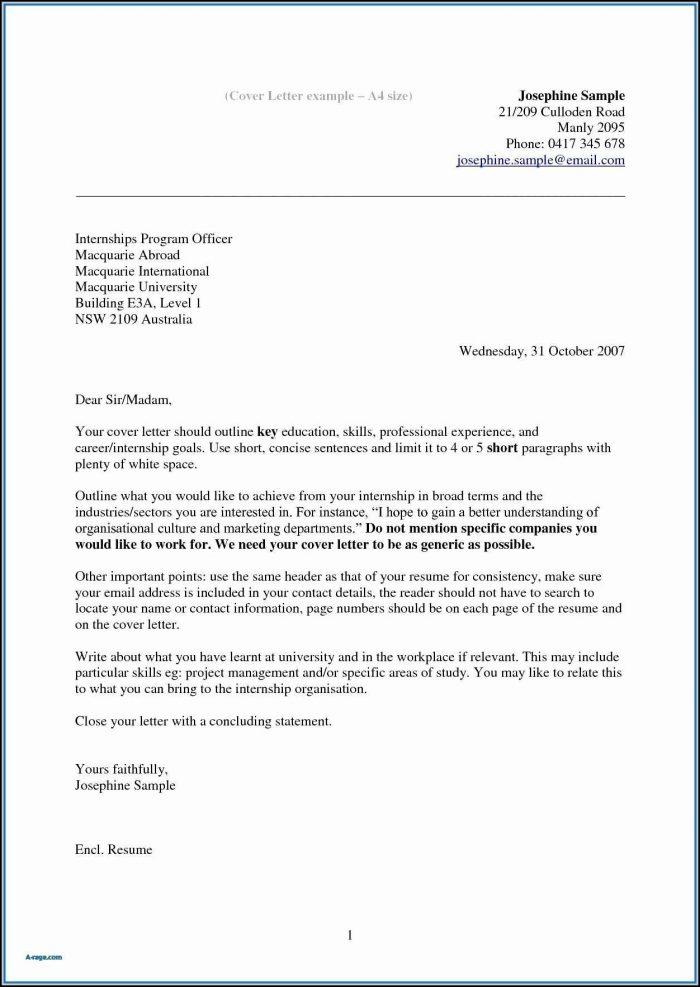 Cover Letter For Resume Template Free - Cover Letter  Resume