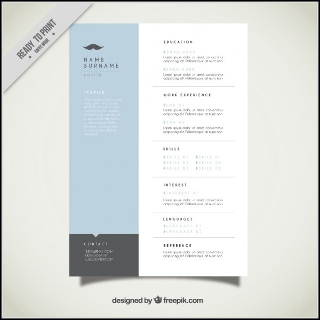 Contemporary Resume Templates Free Download - Resume  Resume