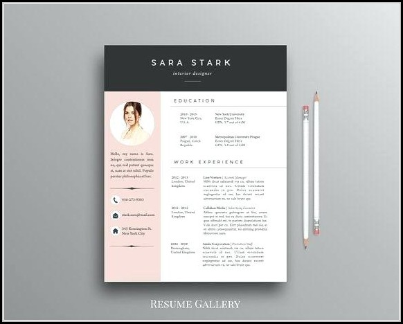 Free Creative Resume Templates For Mac - Resume  Resume Examples
