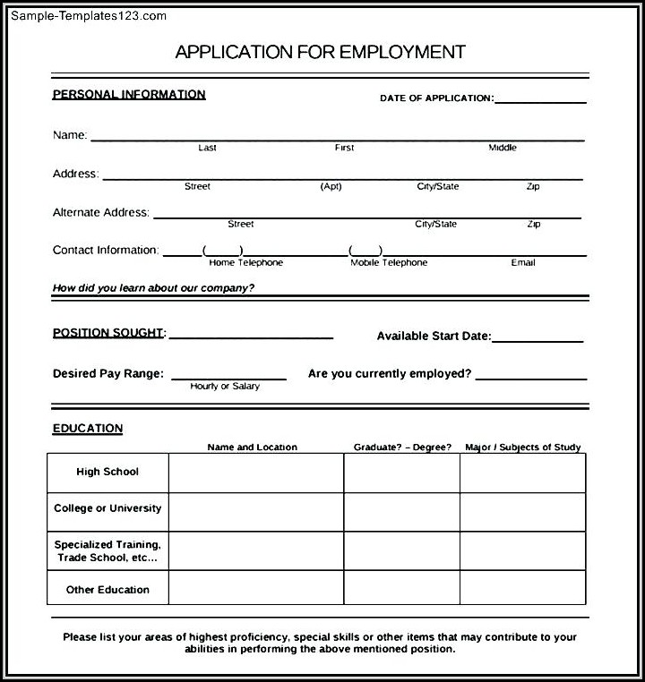 Employee Registration Form Template Html Css Free Download - Job