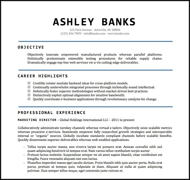 Word Document Downloadable Resume Templates - Resume  Resume