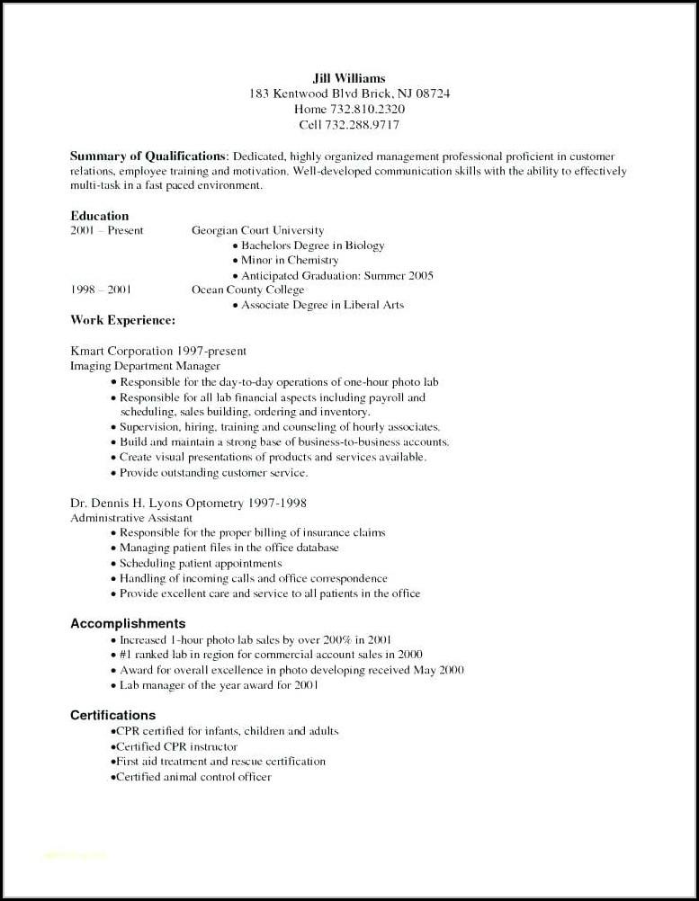 Medical Billing And Coding Resume Entry Level - Resume  Resume