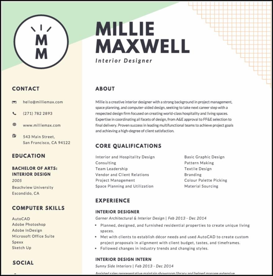 Resume Maker Online Canva - Resume  Resume Examples #My3aX0mKwp