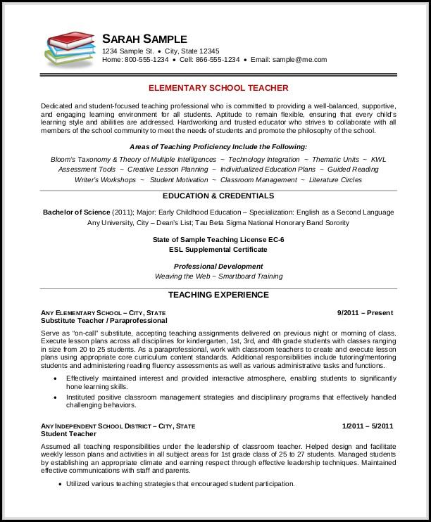 Teacher Resume Template Free - Resume  Resume Examples #N48mV2B1yz
