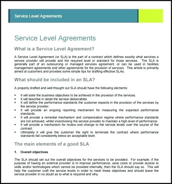 Basic Catering Contract Template - Template 1  Resume Examples
