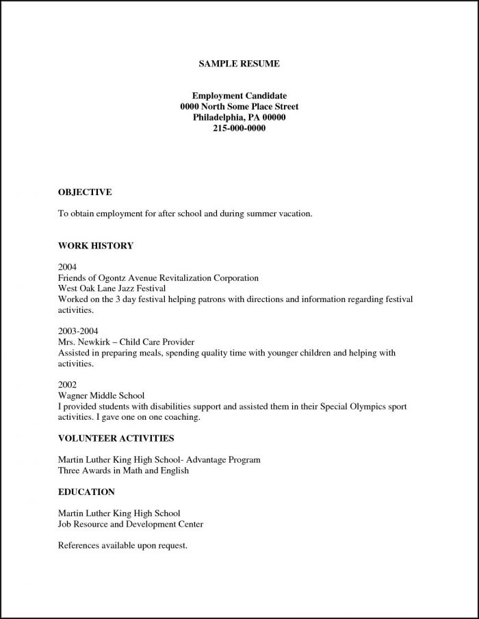 Human Resources Manager Resume Examples Free - Resume  Resume