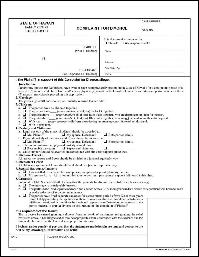 Texas Uncontested Divorce Forms Pdf - Form  Resume Examples #9x8rLgwKdR