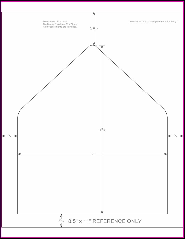 A7 Envelope Printing Template - Template 2  Resume Examples #xM8pLxP8Y9