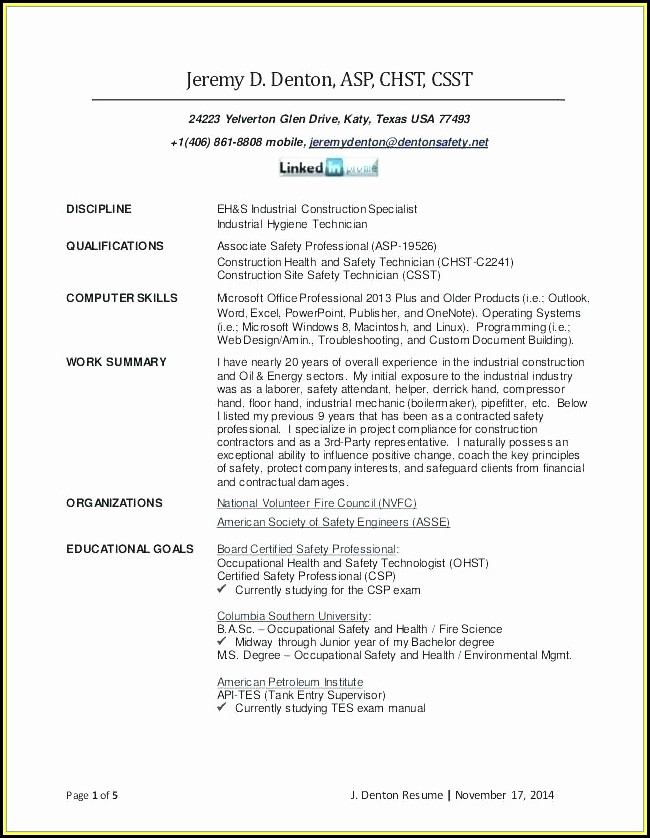 Certified Professional Resume Writer Houston Tx - Resume  Resume